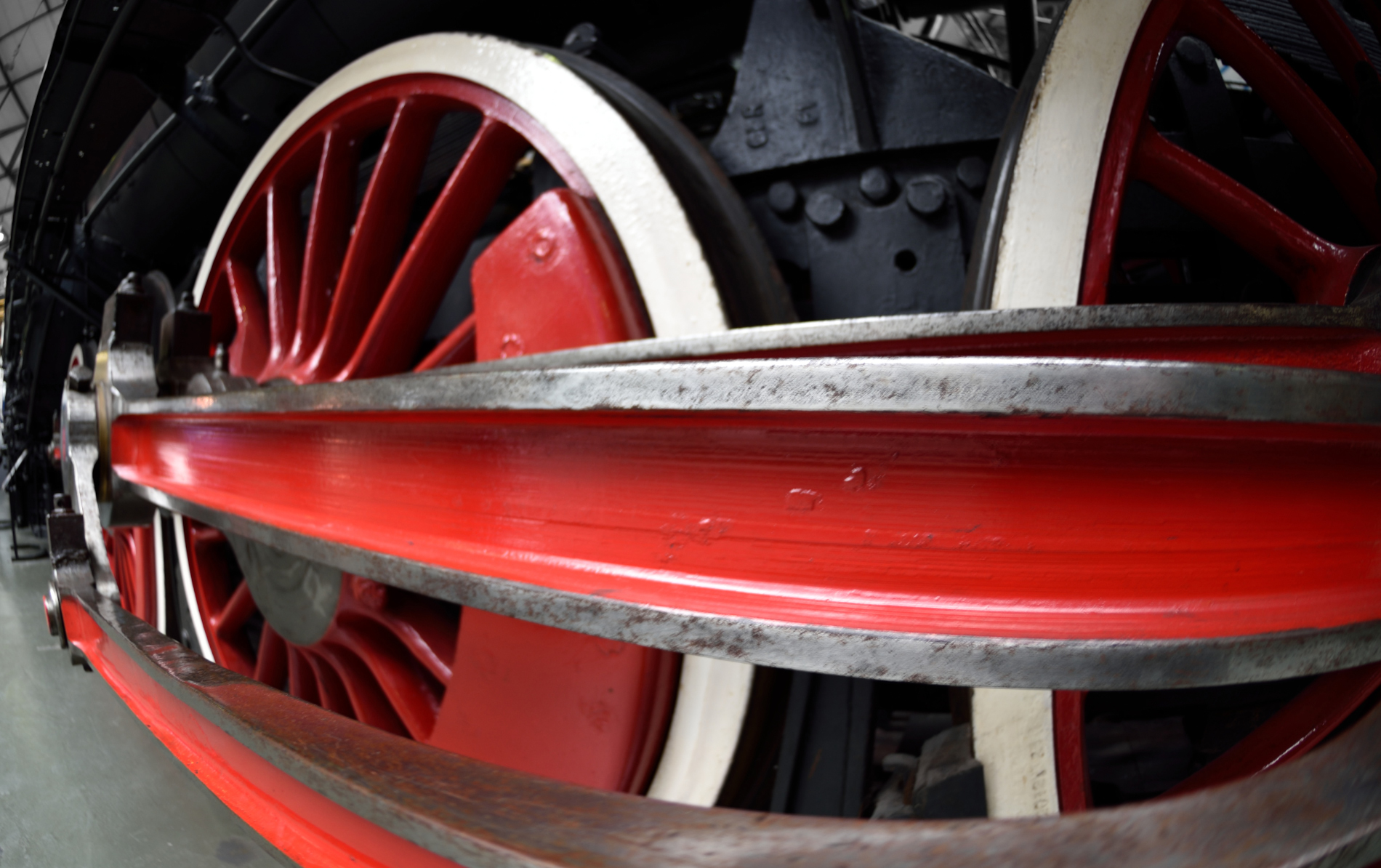 YORK, Engeland - Spoormuseum