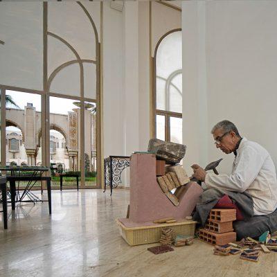 School voor mozaiek artiesten