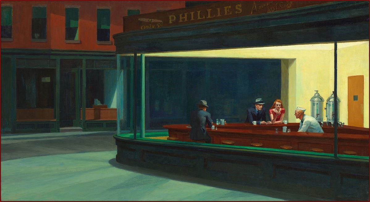 NIGHTHAWKS_Edward Hopper