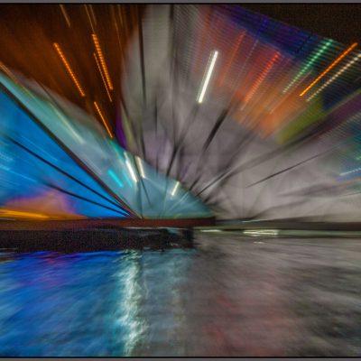 Amsterdam - Lightfestival. Zoomen met je lens tijdens de opname